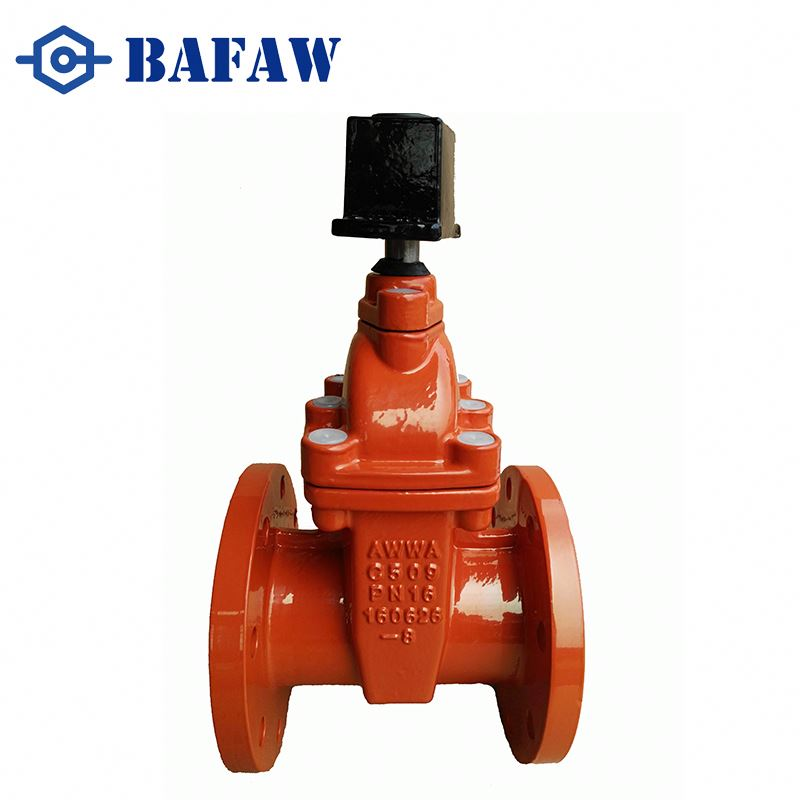 Strict quality management din standard cast iron flange russian gost radiator gate valve food grade