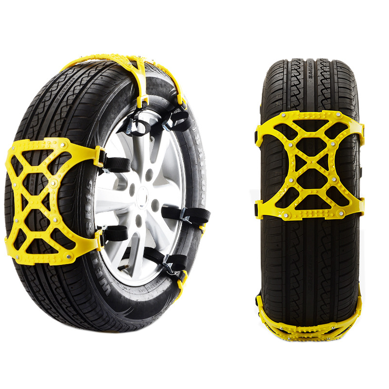 Winter Mud Tyre Truck Car Chain Tire 2 Pcs Easy Installation Simple Anti-skid Belt Snow Chain