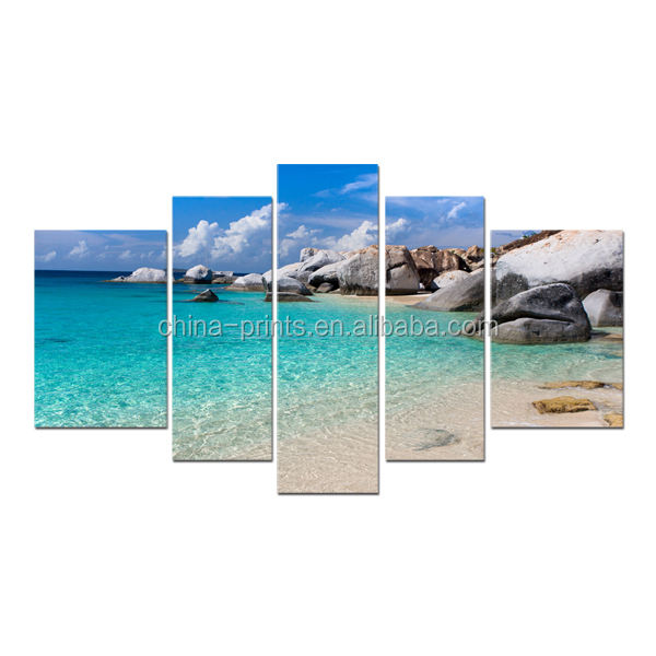 Beach Canvas Painting Wall Art Home Decoration