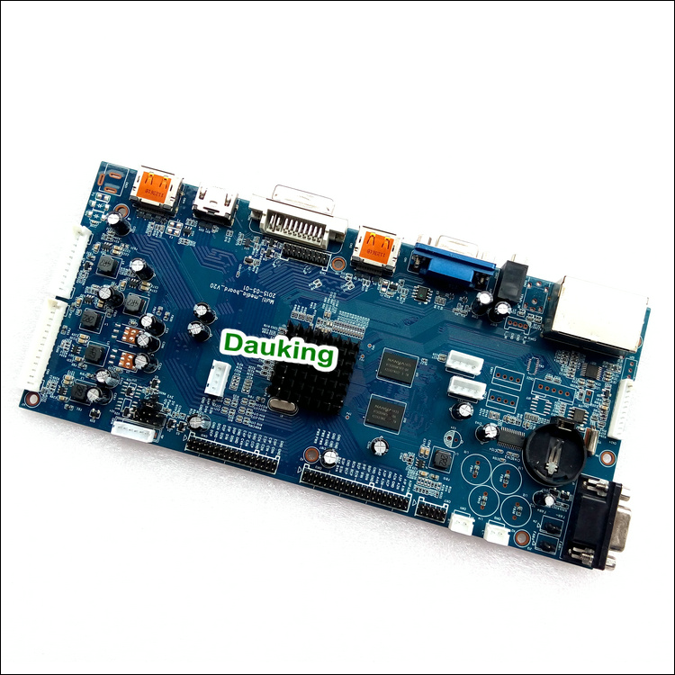 4k 3840x2160 controller board for lcd panel ,4K lcd panel driver board with vga dvi hdmi inputs,VGA LVDS Converter Drive board