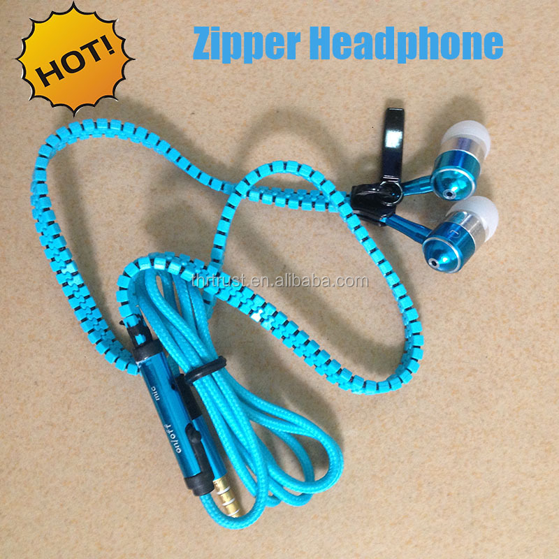 Free Sample Factory Supply Bulk items bluetooth Wireless Zipper headset earphone headphone
