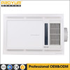 Electric Bathroom PTC Fan Heater &Light with 15W LED panel or illumination CCC approval