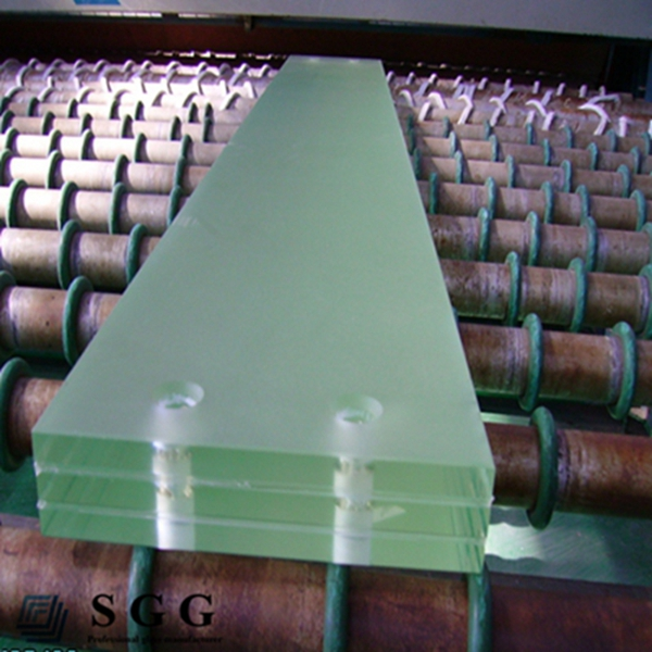 Top quality opaque laminated safety glass 8 10 12 16 20 24 30 38mm 0.76/1.14/1.52/1.9mm PVB