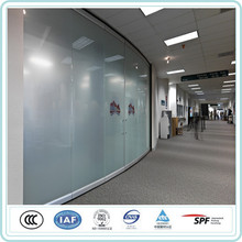 interior home decorative tempered patterned glass interior home desgin 8mm plain acid etched glass