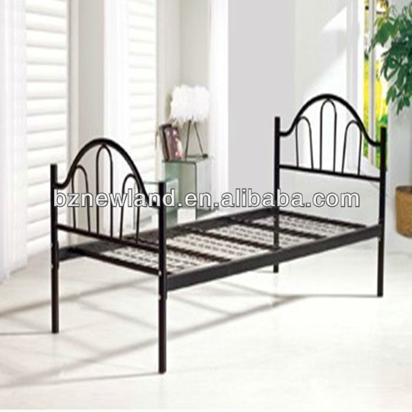 steel mesh wire frame single bed for living room furniture buy cheap metal beds - Wire Bed Frame