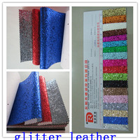 shiny pu leather raw material for shoe making anf sofa pu leather materials
