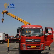 Dongfeng hiab utility truck mounted pickup bed crane for sale