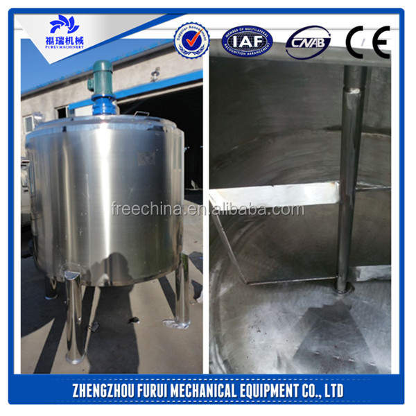 liquid mixing machine/Agitator tank/food tumbler mixer