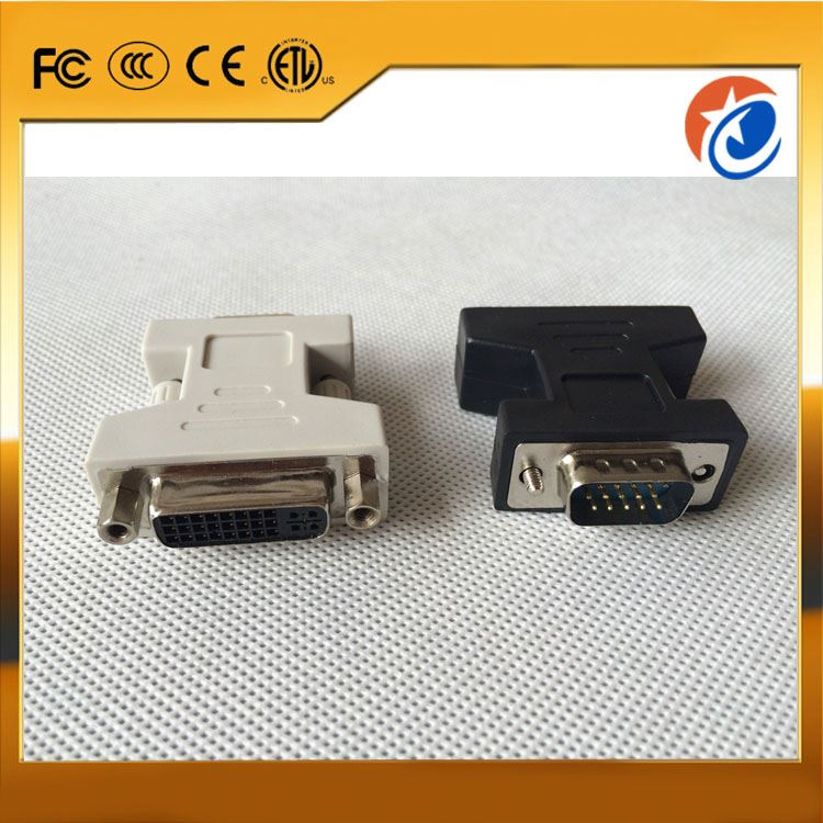 Bottom price usb 3.0 to dvi/hdmi/vga graphic adapter aluminum case 30+5 pin dvi m to m 15 pin vga+usb cable with best price