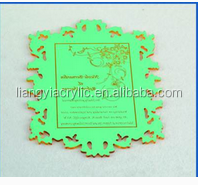 Creative Beautiful Elegant Acrylic Invitations For
