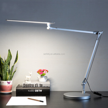 eyes protection black/white LED desk/table lamp/light for night reading/studying