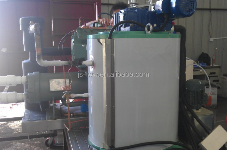 1500kg/day fresh water flake ice machine for fishing zone 1.5Ton Flake Ice Maker