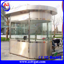 Parking lot protection car control mobile sentry ticket room traffic box booth