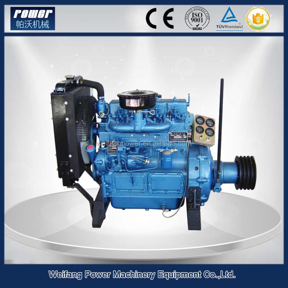 35HP/26KW 490 series diesel engine with clutch
