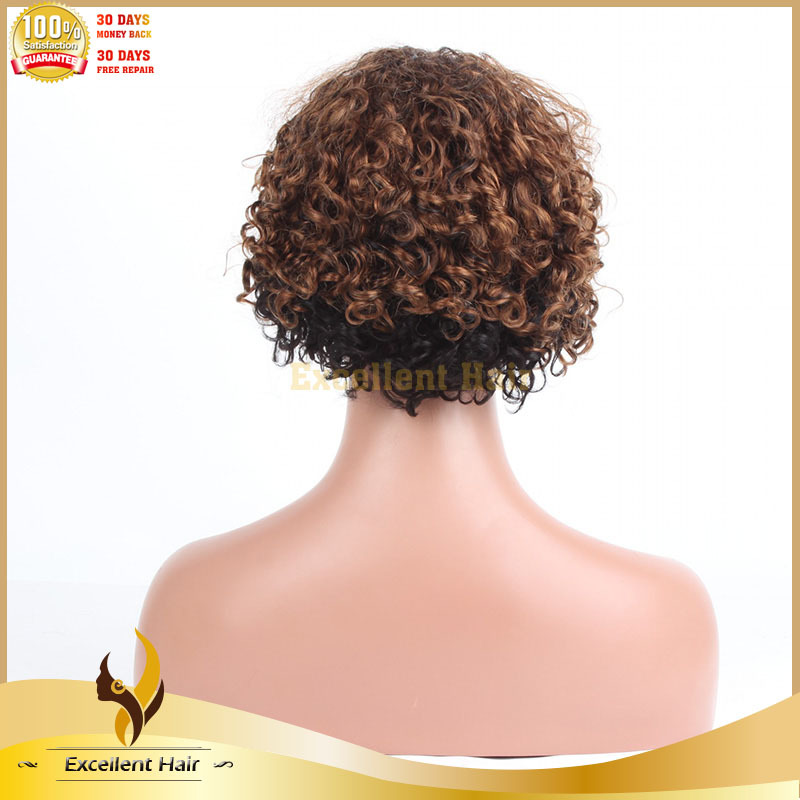 popular fashion new style best quality short curly bob wigs