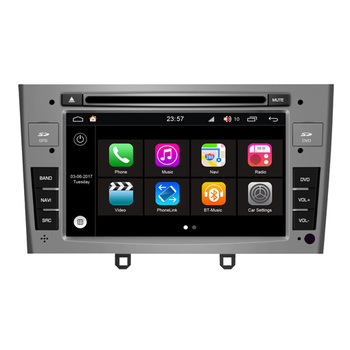 Hifimax Android 7.1 Touch Screen Radio Car MP3 DVD Player For Peugeot 408 (2010-2012) GPS Navigation System Rear Camera Carplay