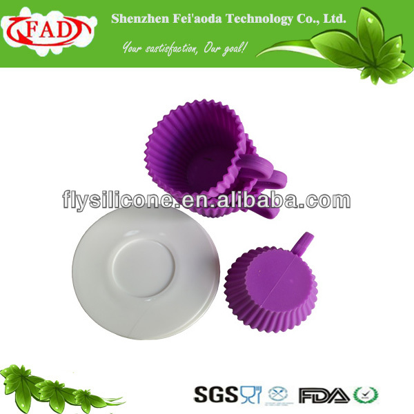 Eco-friendly And Non-stick Food Grade Silicone Cupcake,Gift Birthday Cakes