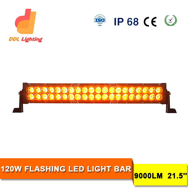 Car accessary 12V Led Ambulance Light Bar led light bar outdoor led light bar 120w epistar