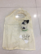 high quality promotional Reusable Cute Cartoon Nylon Bag Polyester Folding Shopping Bags