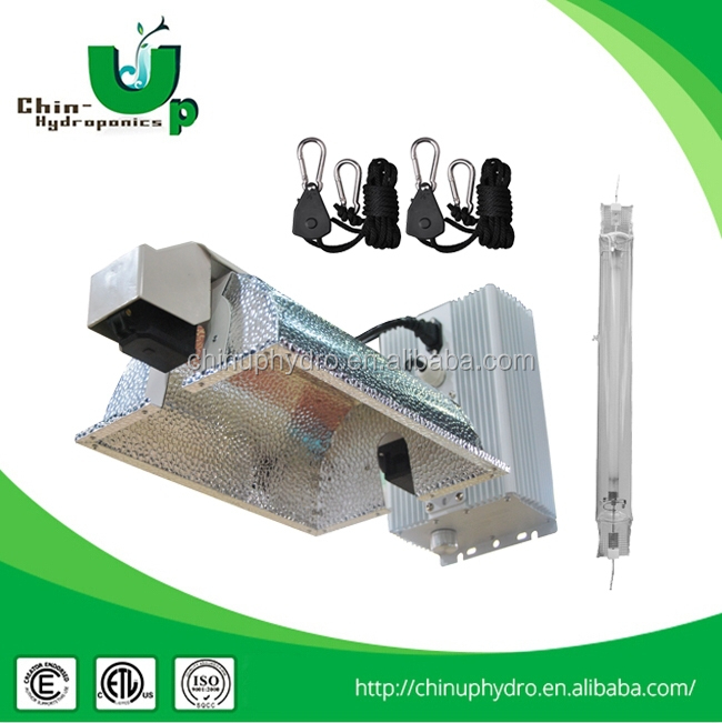 horticulture 1000w de lighting fixture kit/double ended ballast/ double ended grow light reflector kits