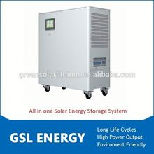 solar energy storage battery system 8kwh 3kva smart inverter and solar panels