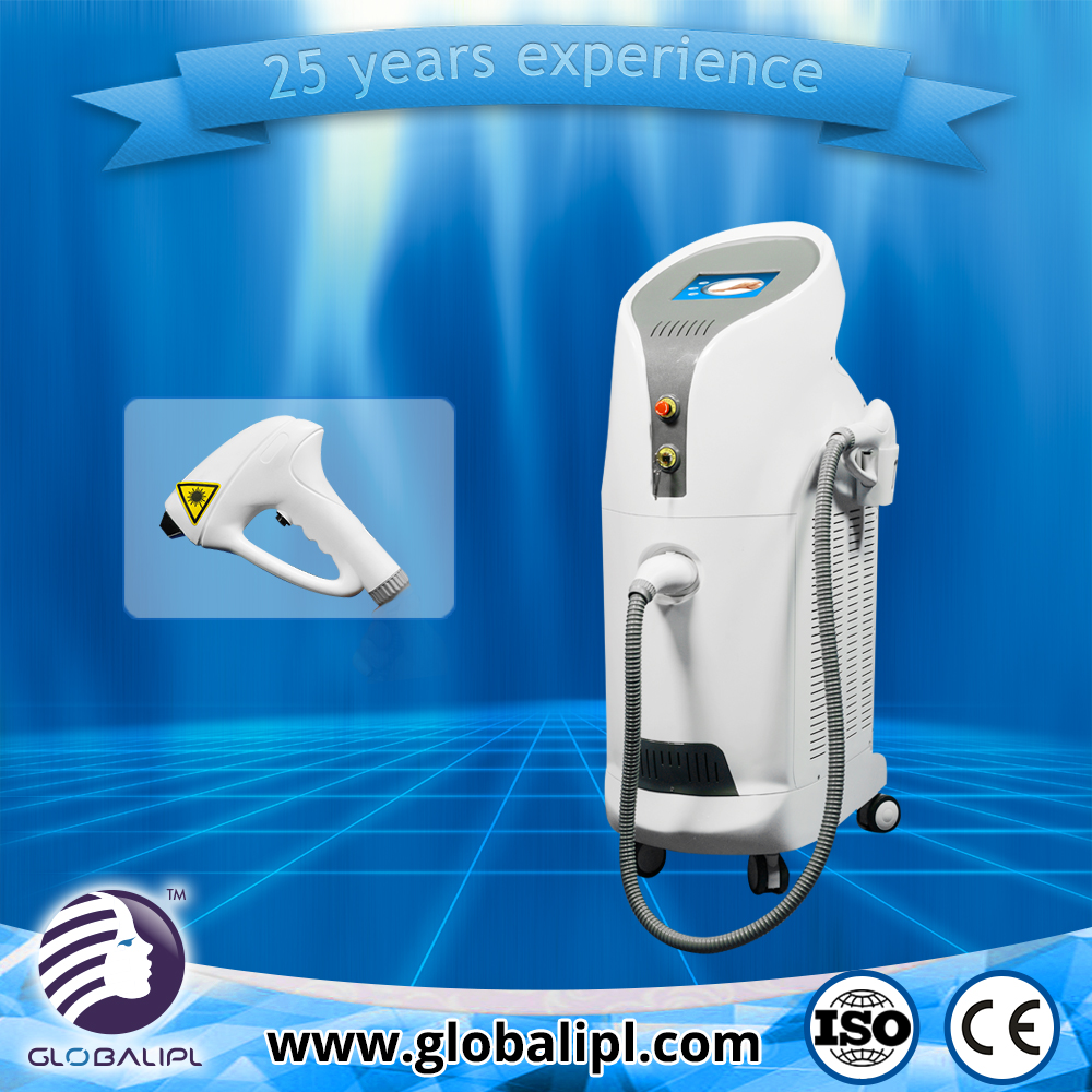no pain beauty equipment shr hair removal 755nm alexandrite laser