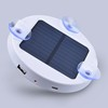 Waterproof solar charger 1800mah 2600mah 5200mah mobile charger power bank real capacity