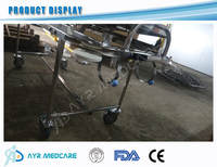 Stainless Steel Medical trolley stretcher
