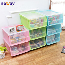 High Quality Home Plastic Storage Box With Lid