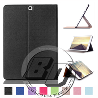 Wholesale Popular flip folio PU leather stand flod wallet For Samsung Galaxy Tab S2 9.7 T815 Tablet case cover
