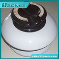 ANSI 56-3 33KV 13.3KN Porcelain Pin insulator with creepage distance 533mm