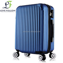 Best price durable unisex abs trolley travel luggage
