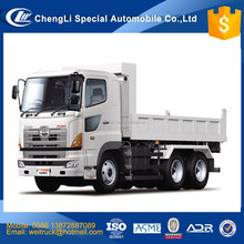 Japanese technology hino 10 wheel 20ton 30ton 40ton 50ton sand dump truck hyva cylinder for hot sale