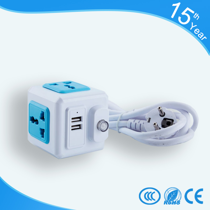 pop portable multi-functional usb power supply unit socket