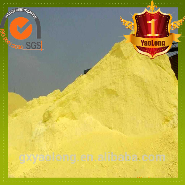 Top quality russian sulphur granular