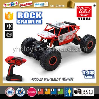 Hot Selling Rock Crawler 2.4G 4x4 RC Trucks for Sale