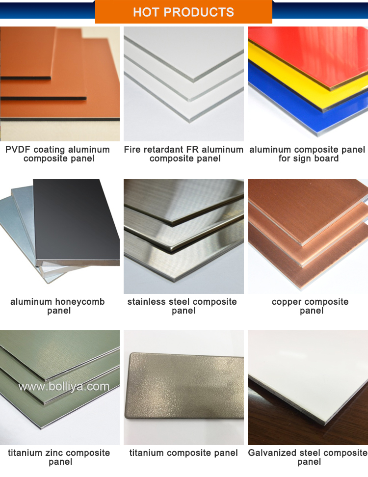 ACM ACP Fire Proof Fire Resistant Fire Retardant Aluminum Composite Panel