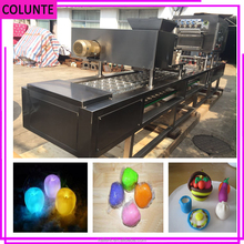 Colunte customised space mud plastic cup filling and sealing machine