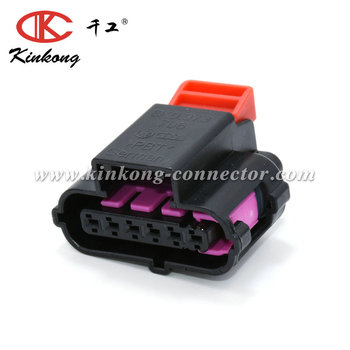 Kinkong High Quality 6 Pin Accelerator Pedal Plug Auto Connector For 06-08 Audi A3 VW Skoda Volvo 8k0 973 706