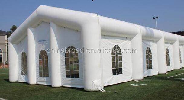Waterproof and fireproof inflatable party tent/wedding tents for sale