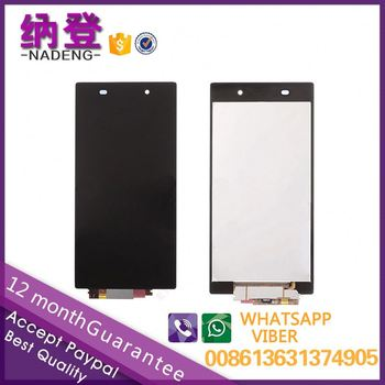 Best quality for Sony xperia Z1 lcd genuine with original color