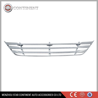 Car exterior accessories ABS chrome body part front grille for 2012 IX35