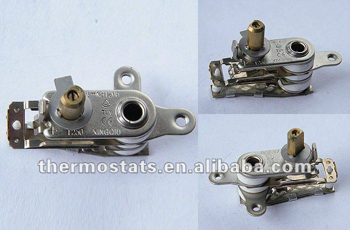 Bimetallic steam Iron Thermostat