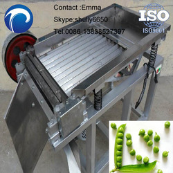 Green beans peeling machine/Green pea shelling machine with low price 0086-13838527397