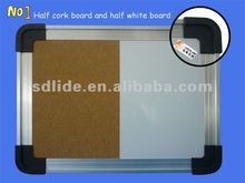 Cork board with whiteboard LD005-CW