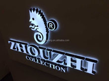 Custom illuminated company 3D sign by Shanghai manufacturer,Shanghai Numberone Signs