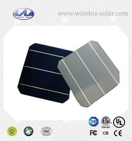 solar cell price 6x6 inch 156x156mm A grade/B grade pv mono silicon solar cell bulk price made in Taiwan