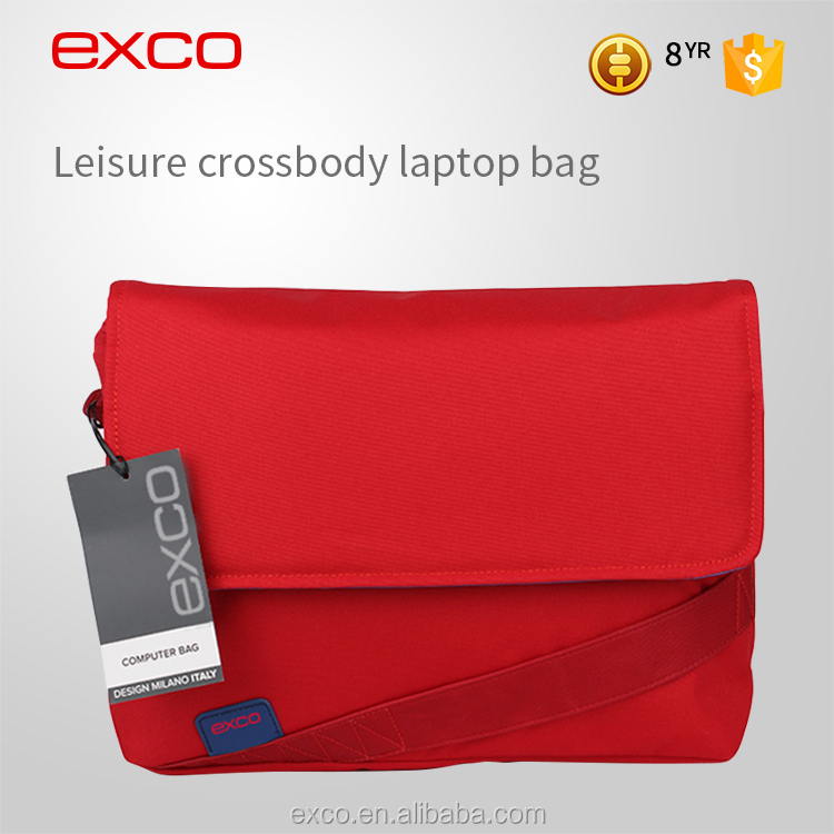EXCO Polyester Waterproof Functional Notebook Laptop Computer School Bag for Male/Female