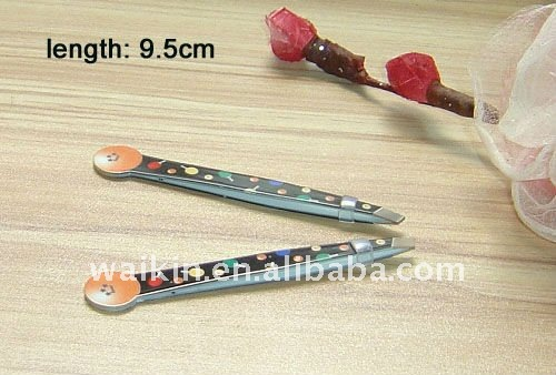 Professional Ball Pattern Smart Cosmetic Tweezers