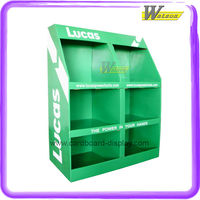 Supermarket Cardboard Display Stand with Custom Sizes for Lucas Power Tools